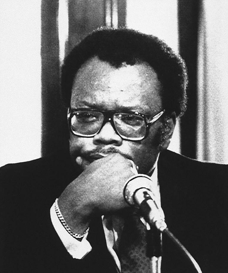 Robert Robinson era un abogado de Georgia. Su muerte fue similar a la de Robert Vance, pero Moody la usó para despistar a los investigadores y hacerles creer que detrás de los crímenes por bomba estaba el Ku Klux Klan (AP)