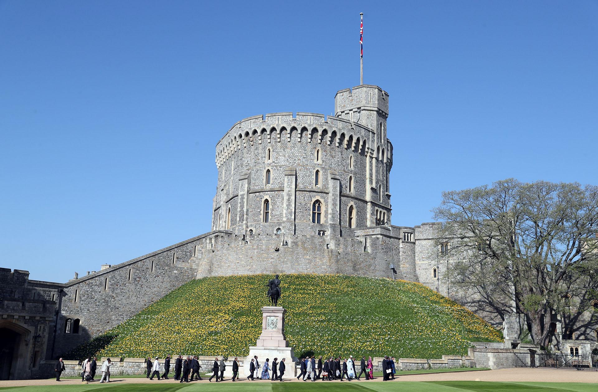 La vista exterior de la fortaleza