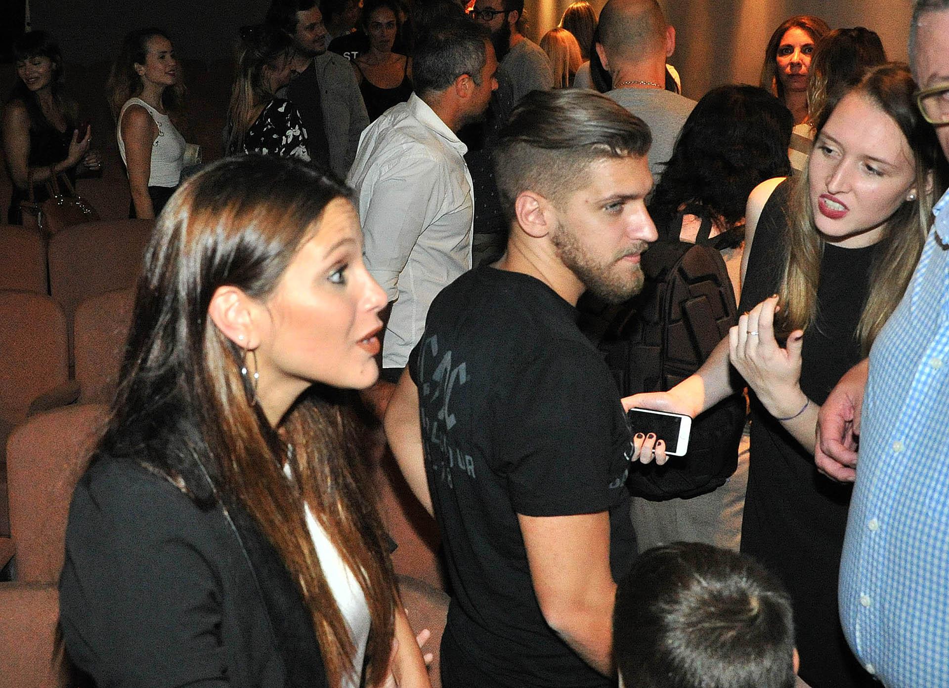 Barbie Vélez y su novio Leandro Rodríguez, el hijo de Fabián Rodríguez