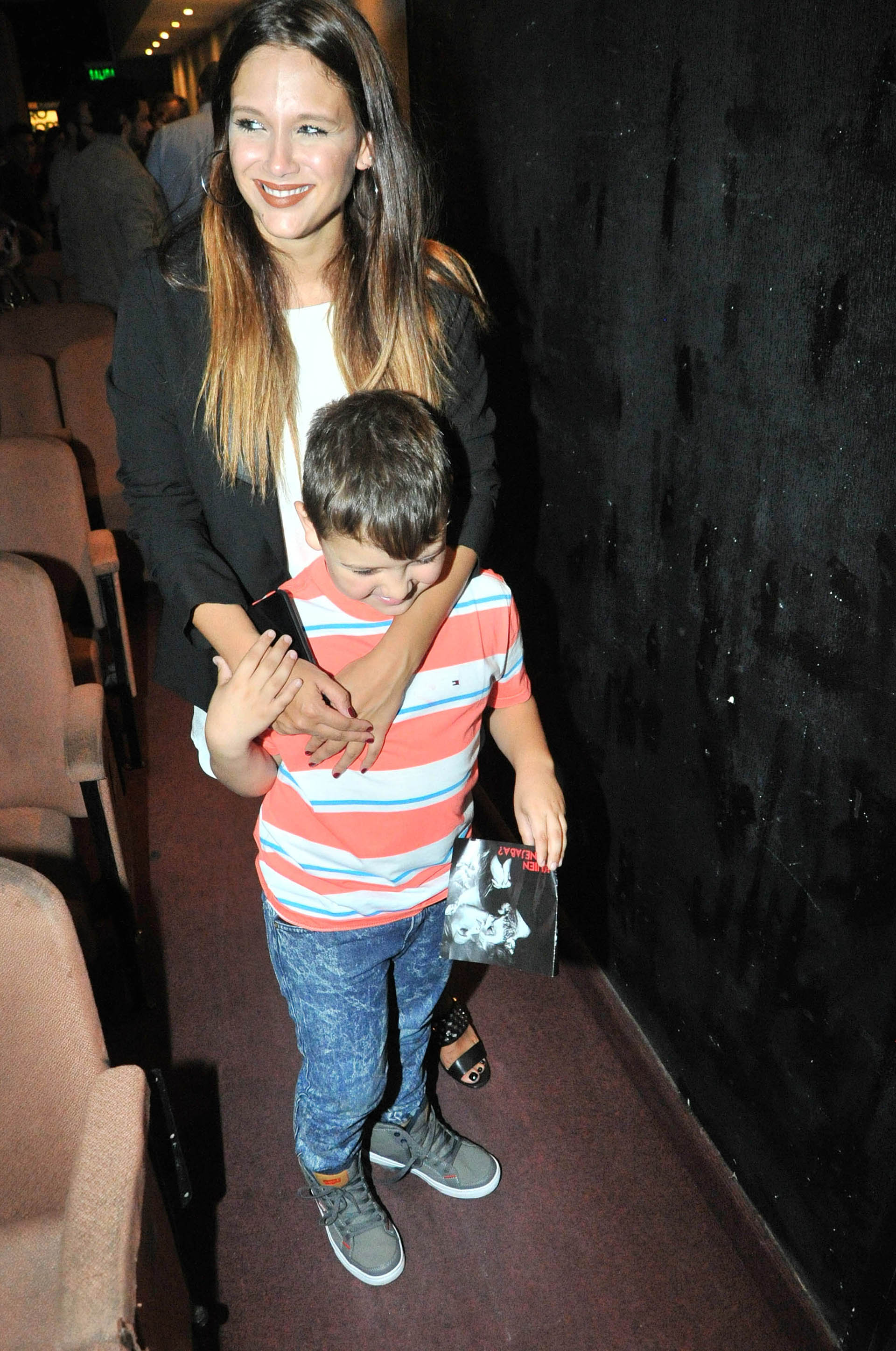 Barbie Vélez y su hermano Thiago