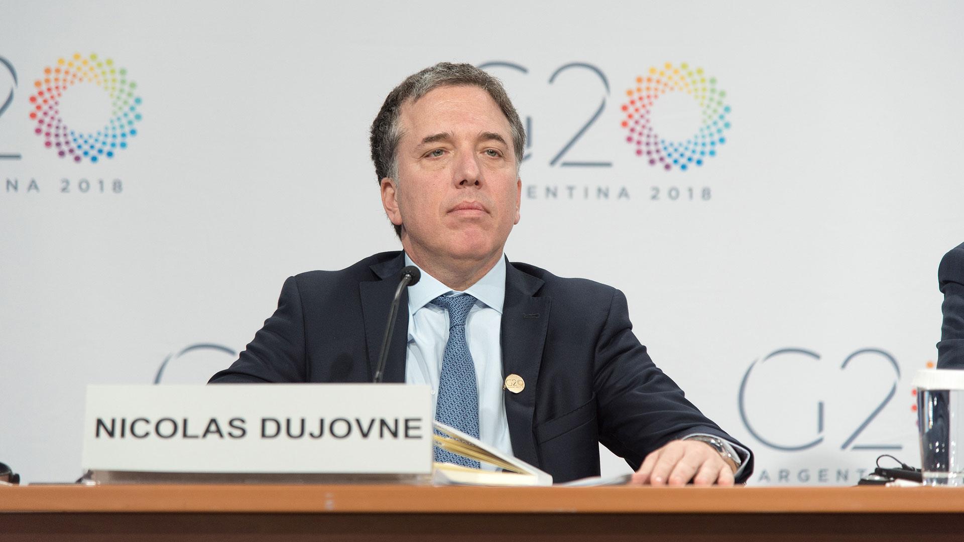 Nicolas Dujovne, ministro de Hacienda de la Nación