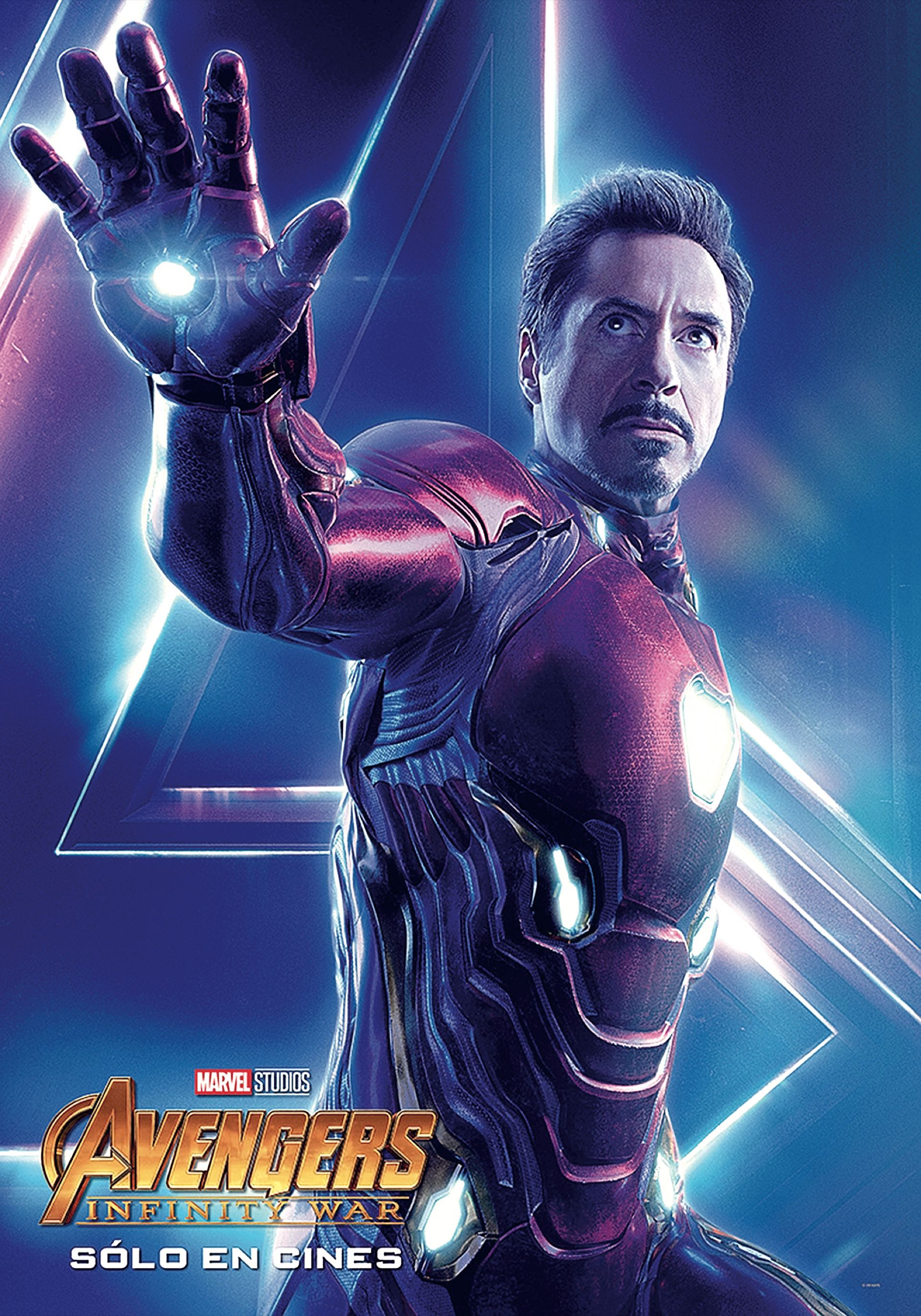 IRON MAN. Desde hace una década, Robert Downey Junior (53, Nueva York) viene interpretando a Tony Stark y al poderoso Hombre de Hierro. Imprescindible.