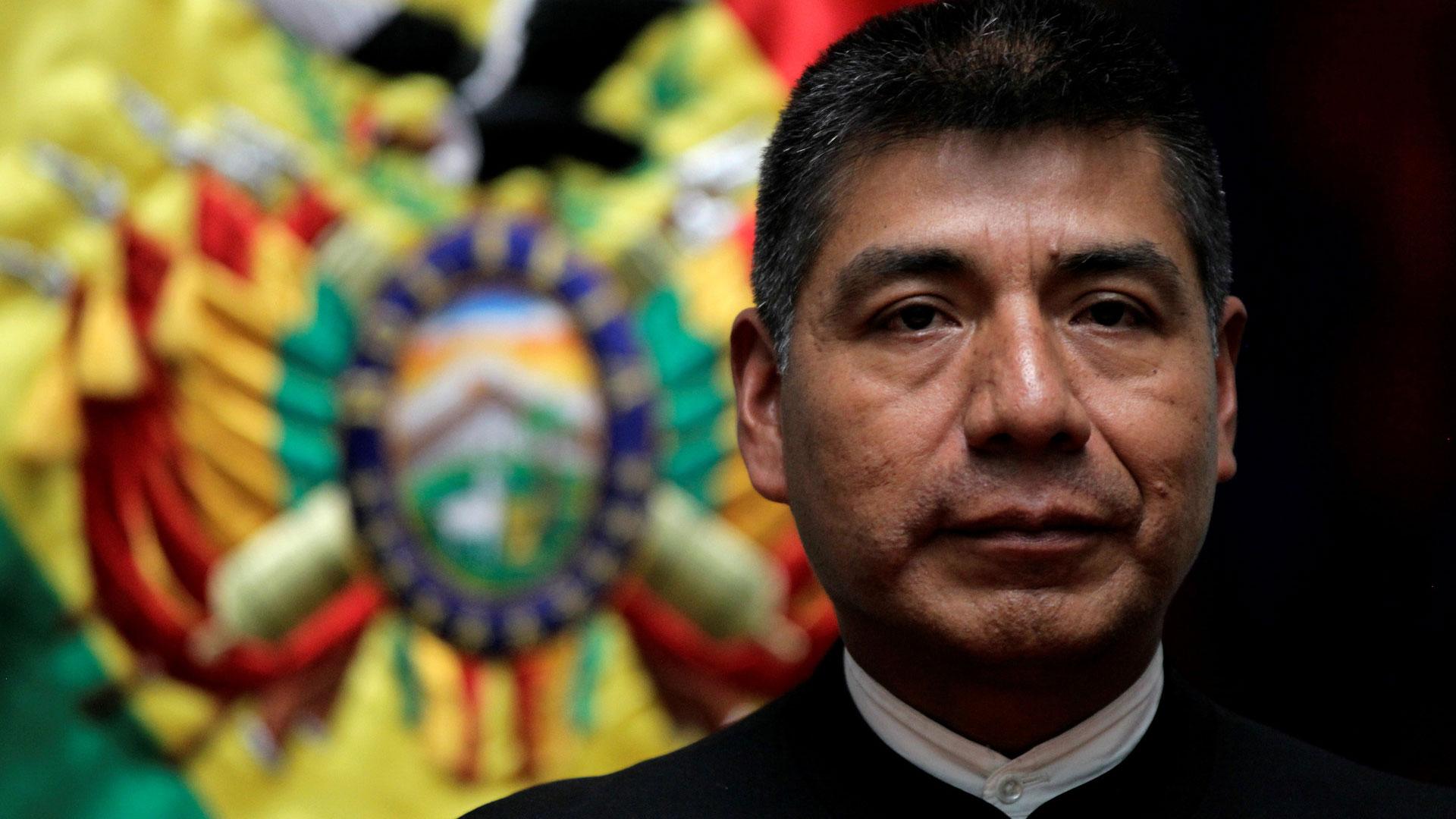Fernando Huanacuni Mamani, ministro de Exteriores de Bolivia (Reuters)
