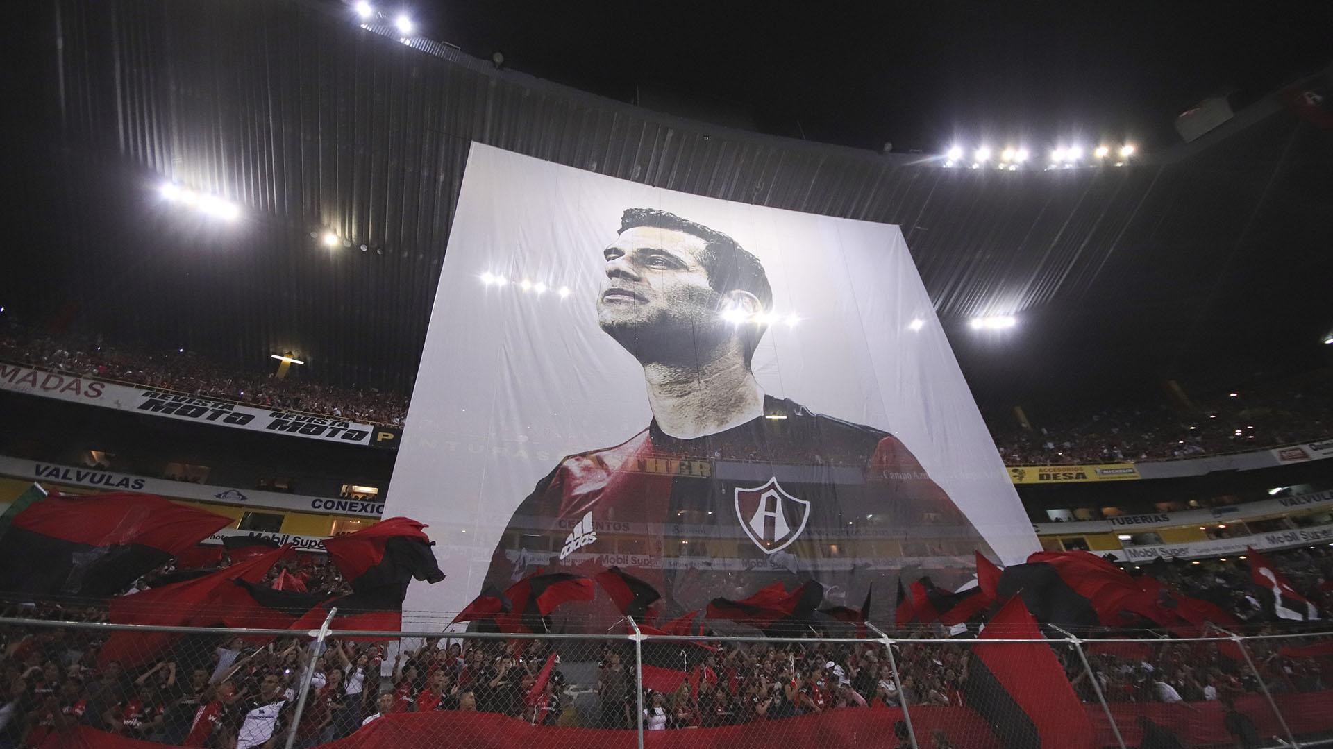 Márquez se despedirá en el Estadio Jalisco, donde juega Atlas, equipo donde es ídolo y del que es hincha (Foto: Carlos Zepeda/ EFE)