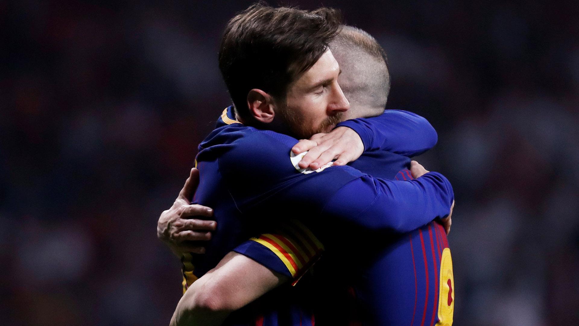 El manchego anunció su adiós al Barça