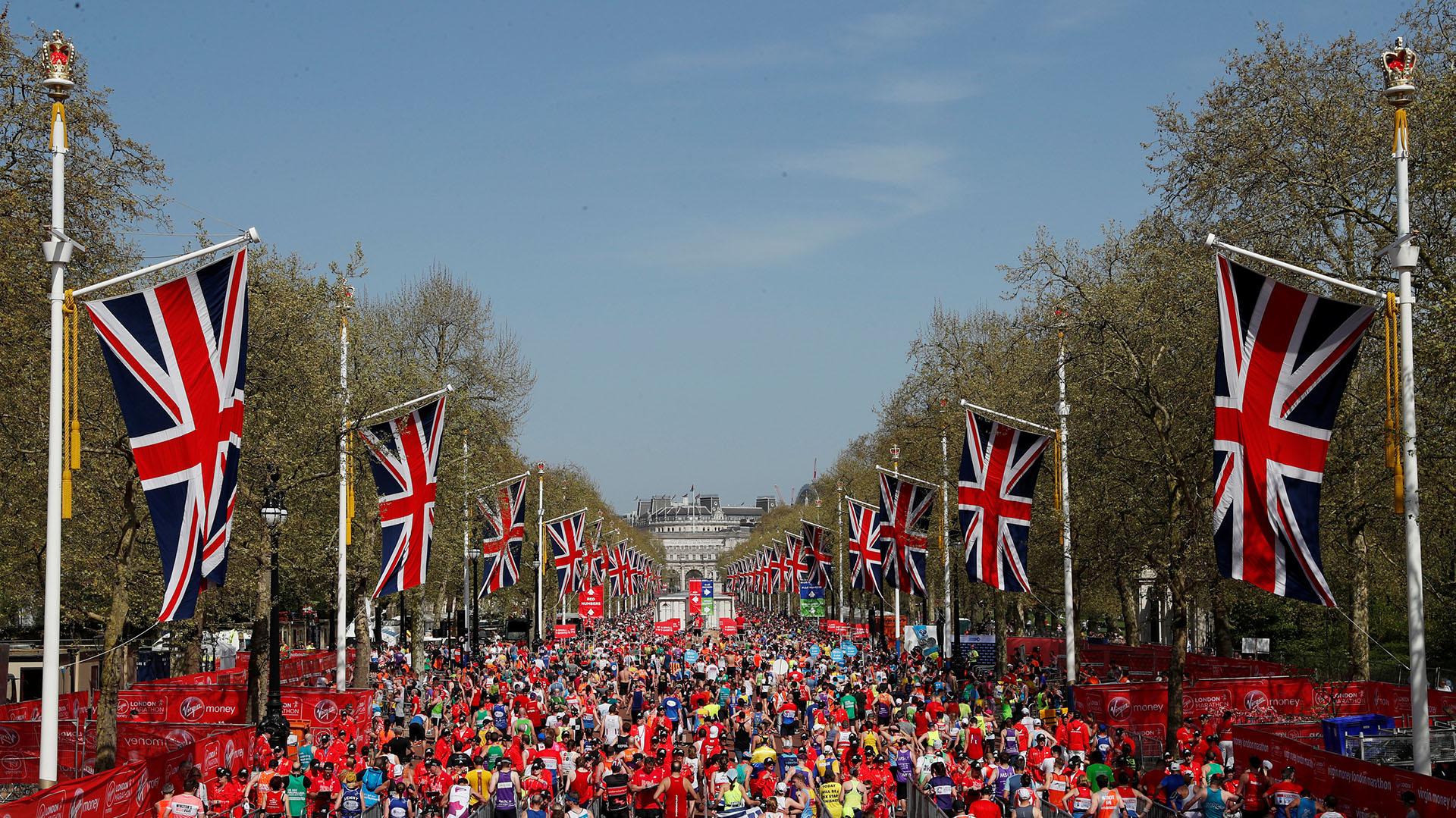 En total, hubo 30.000 atletas de Estados Unidos, de 96 países diferentes
