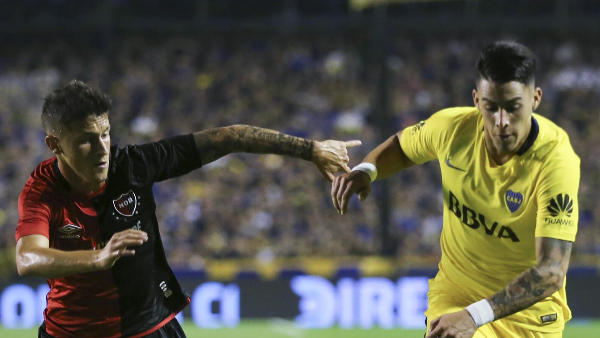 zzzznacd2NOTICIAS ARGENTINAS BAIRES, ABRIL 22: Escena del partido que estan jugando Boca y Newell's correspondiente a la 24ª fecha de la Superliga.Foto NA: MARCELO CAPECEzzzz