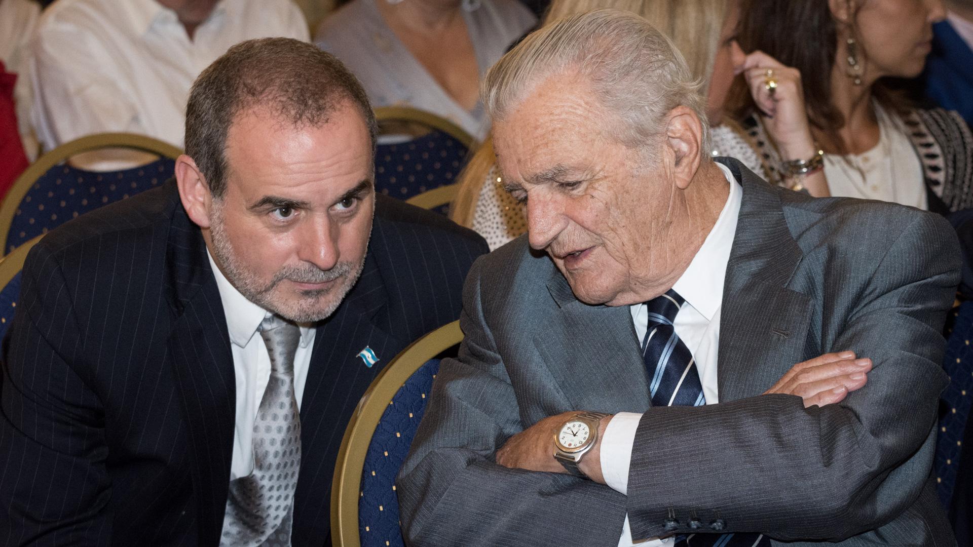 Max Gulmanelli y Santiago de Estrada