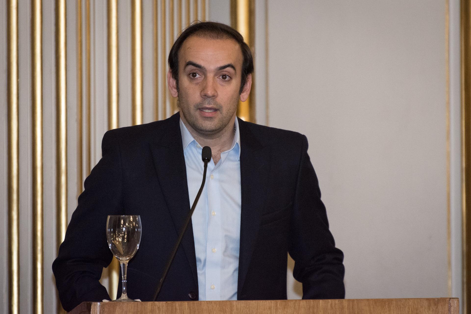 Francisco Quintana, vicepresidente primero de la Legislatura porteña y secretario general del PRO