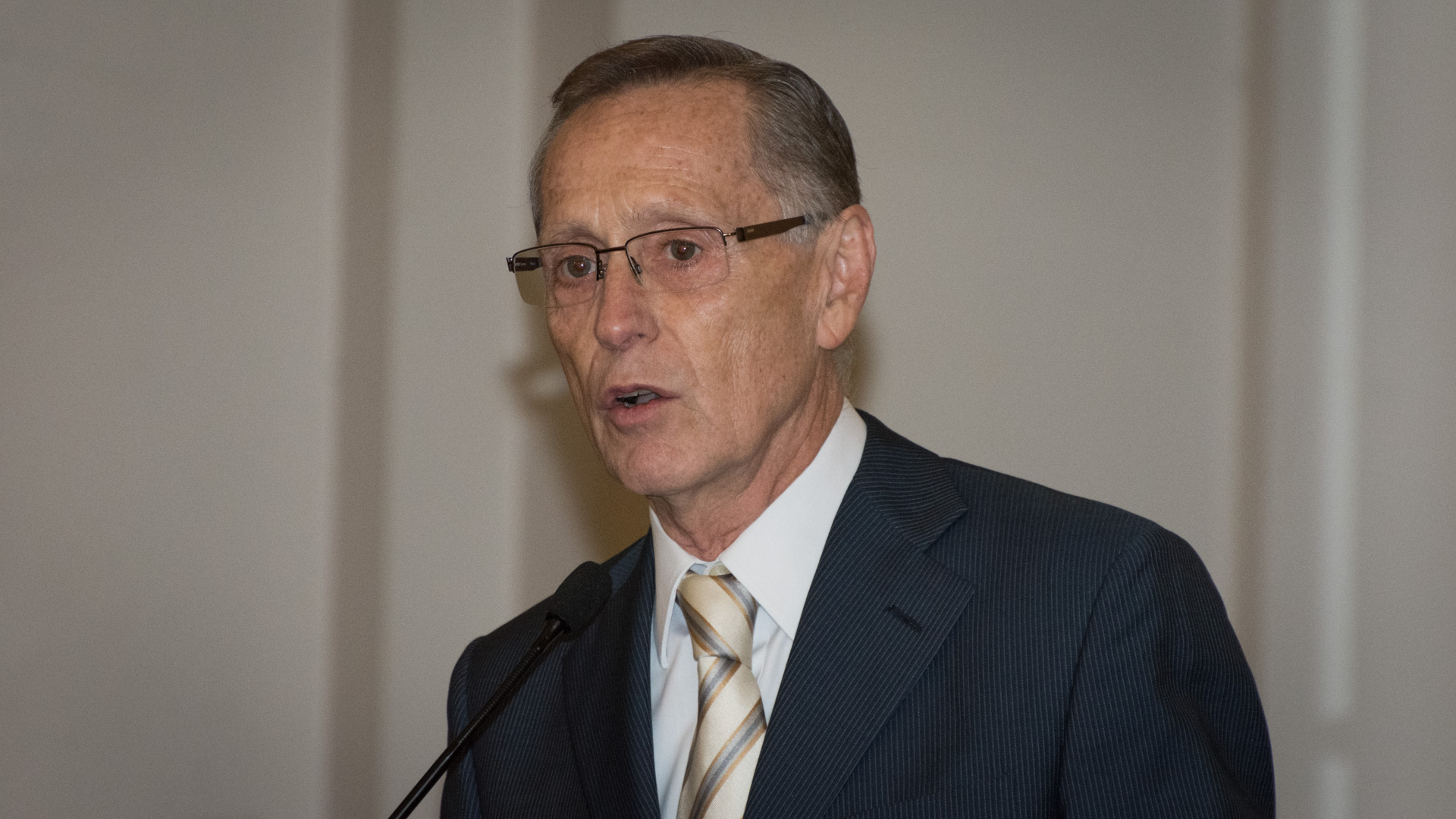 El presidente del Consejo Argentino para las Relaciones Internacionales (CARI) y ex Canciller, Adalberto Rodríguez Giavarini