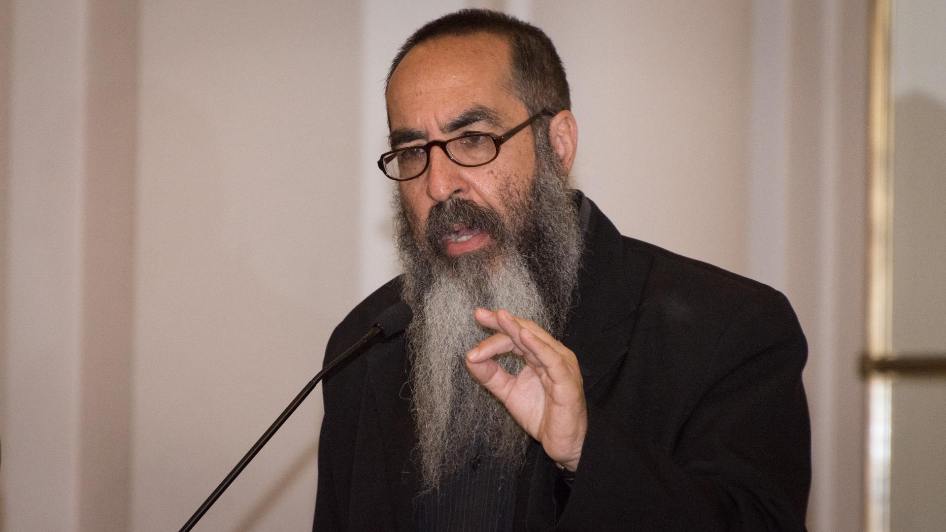 El rabino Daniel Goldman, vicepresidente segundo del Instituto de Diálogo Interreligioso y ya declarado Ciudadano Ilustre