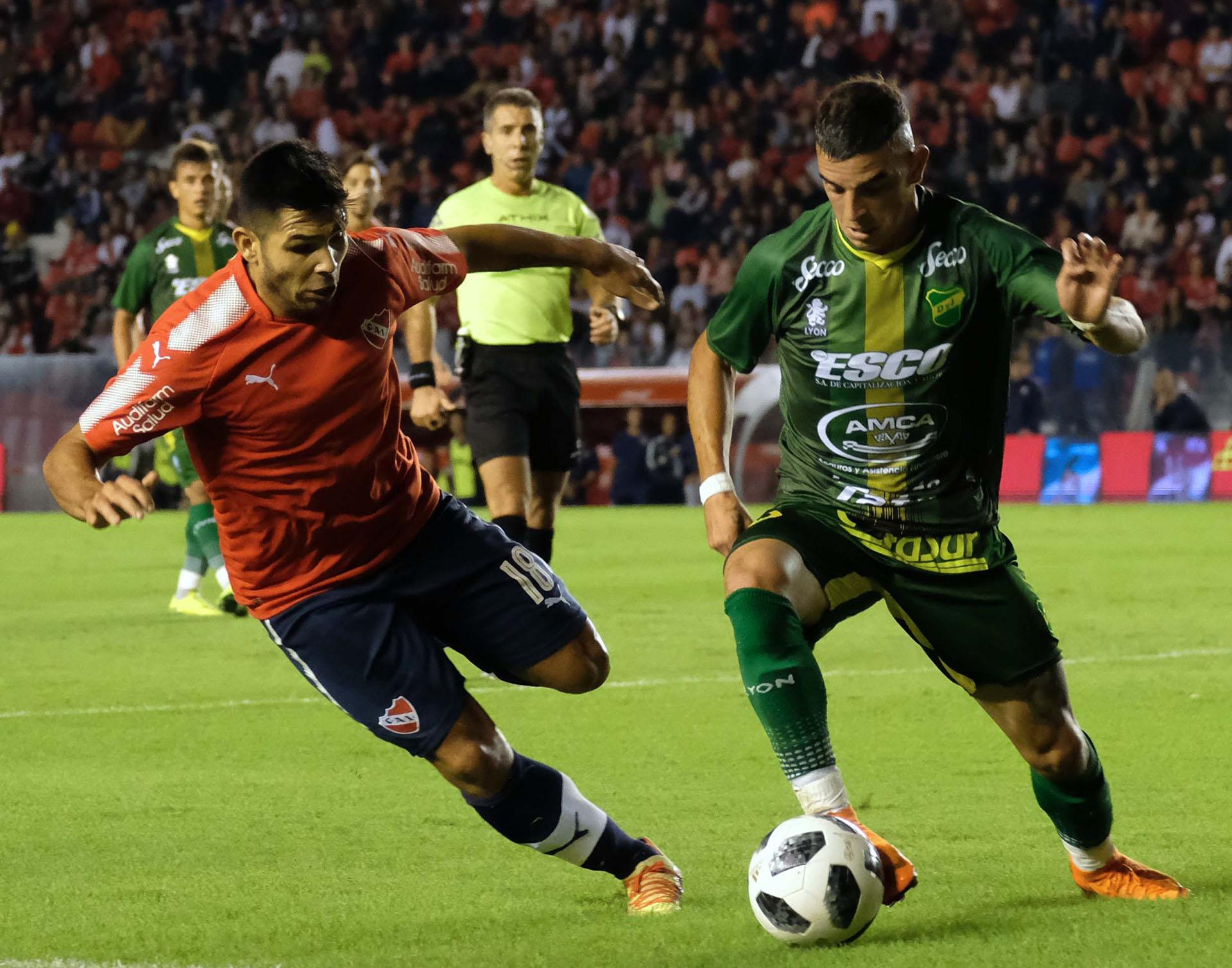 Independiente perdió con Defensa y se alejó de la Libertadores 2019 -  Infobae