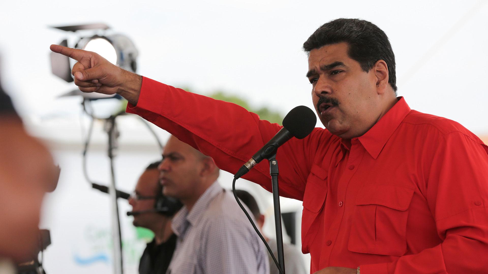 El dictador Nicolás Maduro (EFE)