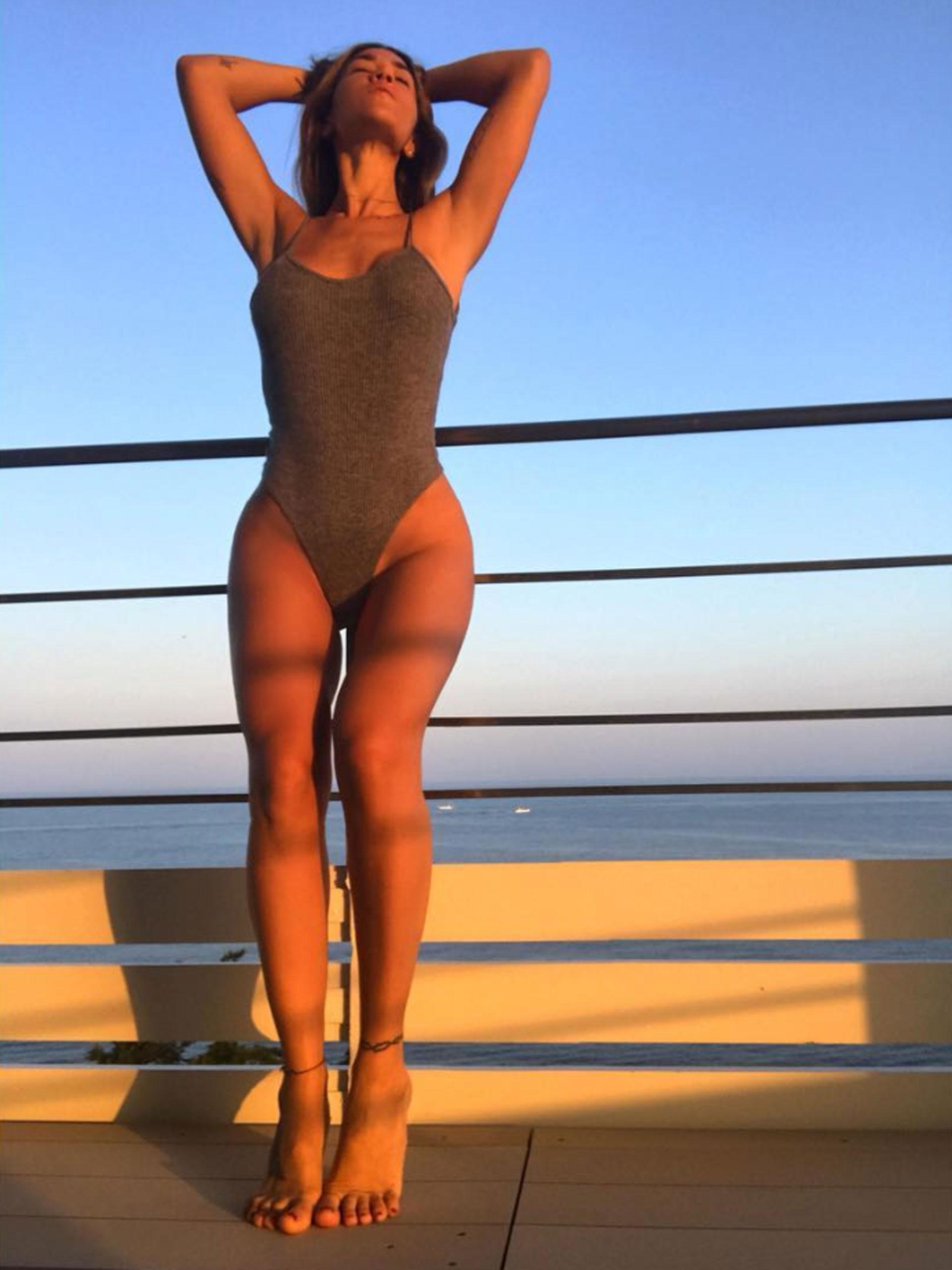 """""""Ojalá estuviera teniendo tanto sexo como la cantidad de gente con la que ya me están vinculando. Más no"""", dijo irónica en Twitter en clara referencia a los que la vinculan con distintos famosos. (Foto: Instagram)"""