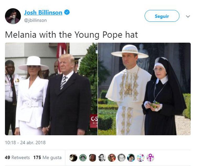 Jude Law en El joven Papa
