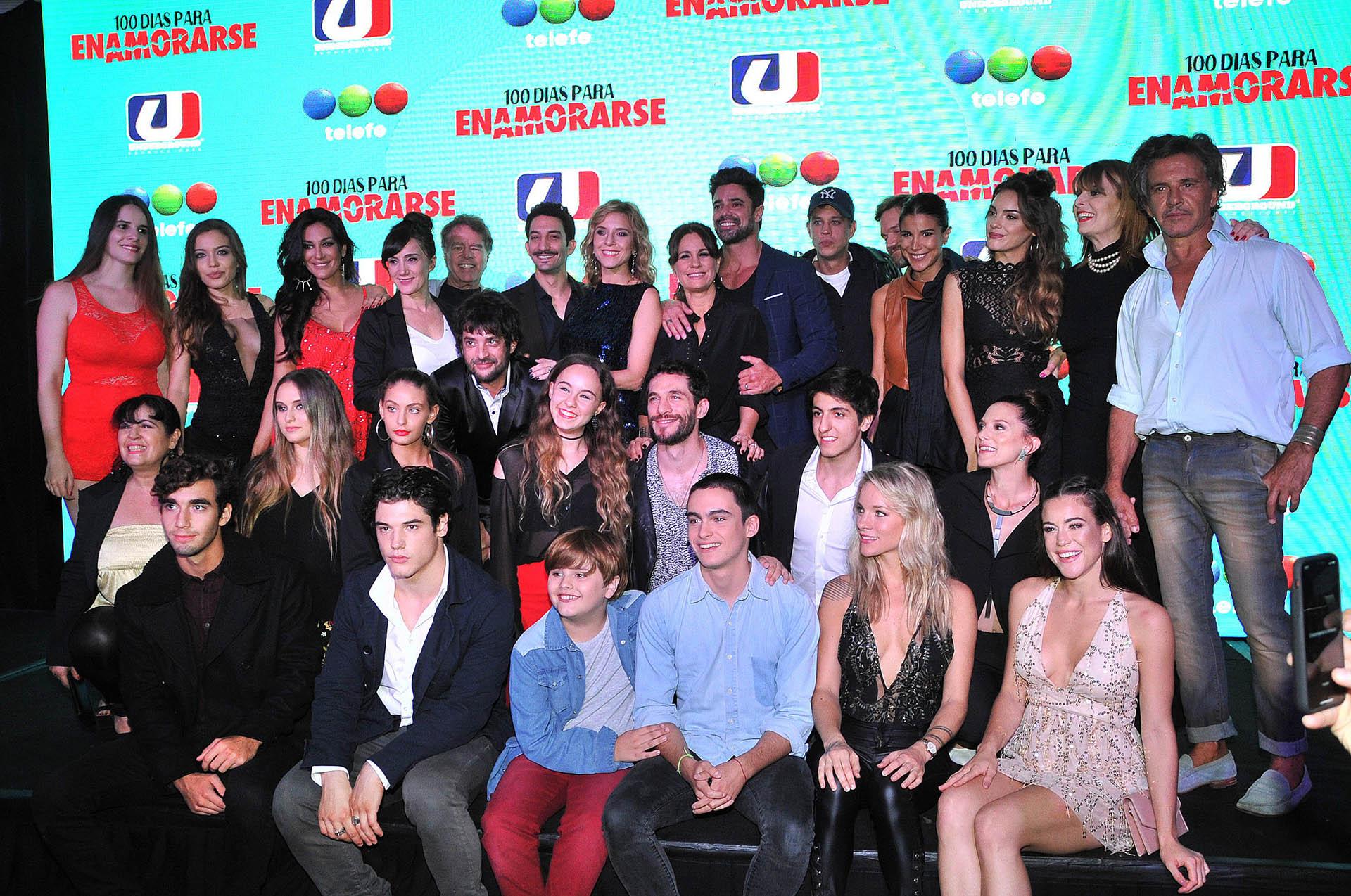 El elenco de la nueva comedia romántica de Underground para Telefe (Verónica Guerman / Teleshow)