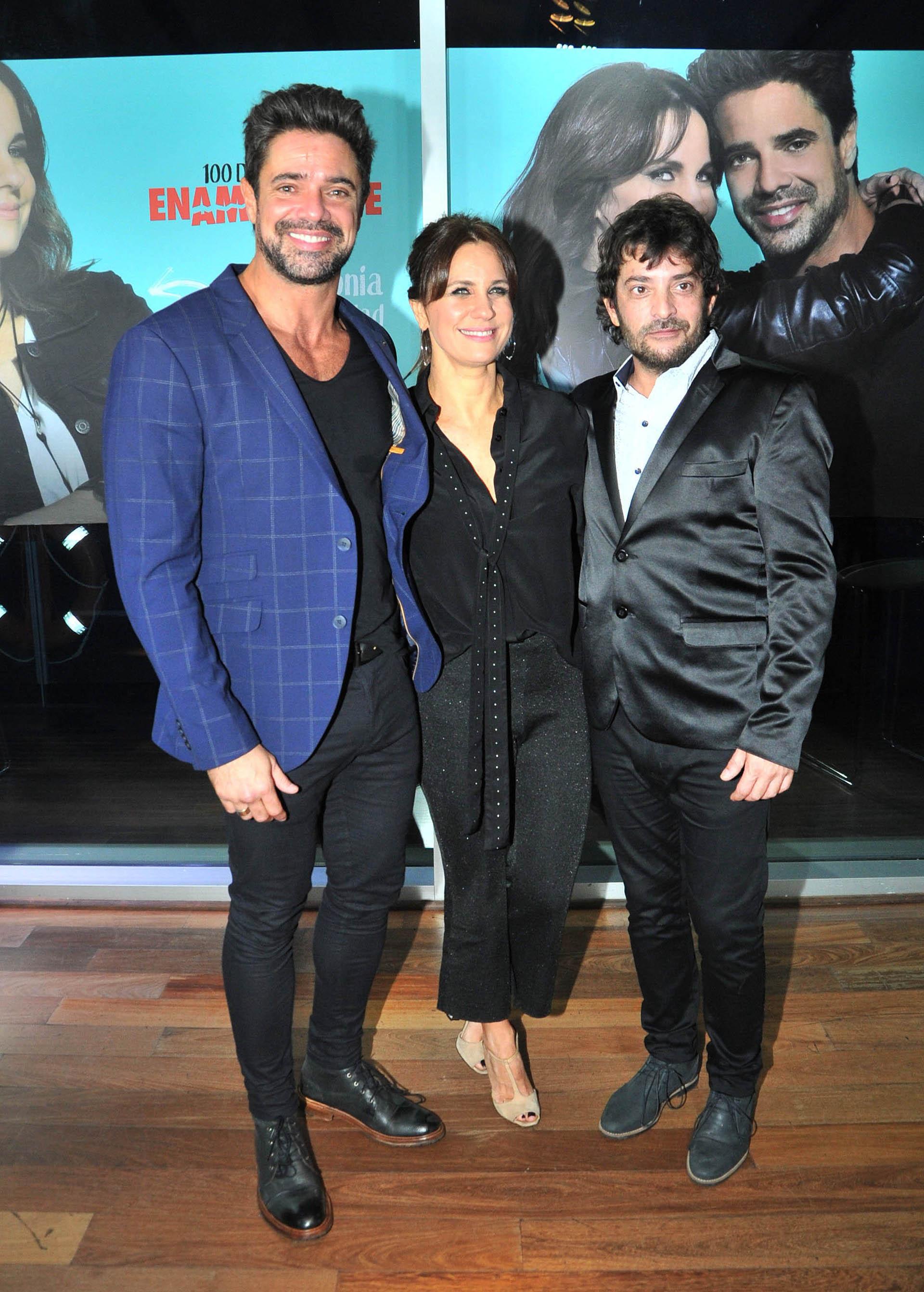 Luciano Castro, Nancy Dupláa y Pablo Rago (Verónica Guerman / Teleshow)