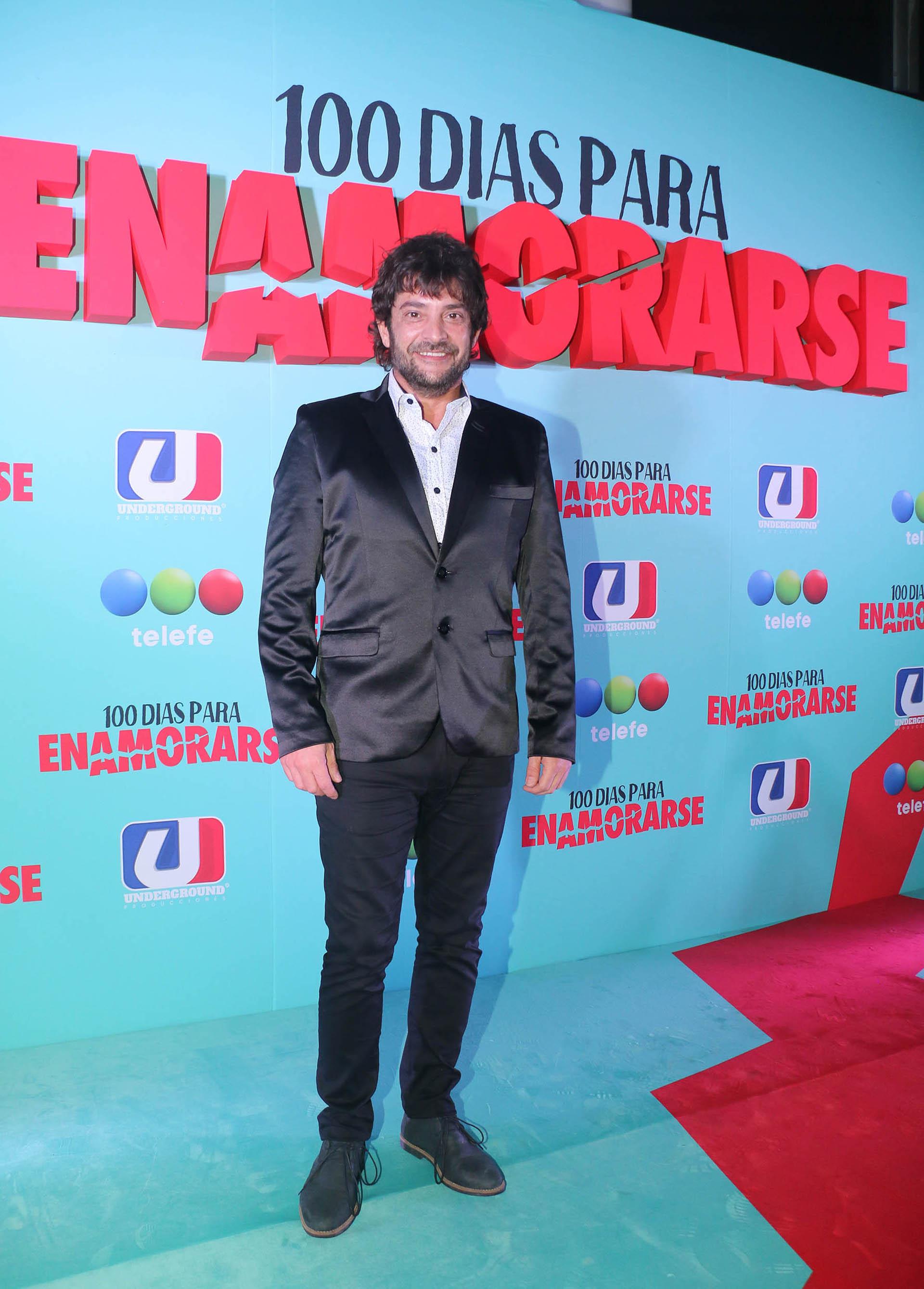 Pablo Rago es Coco Salinas, el marido de Antonia, el personaje realizado por Nancy Dupláa