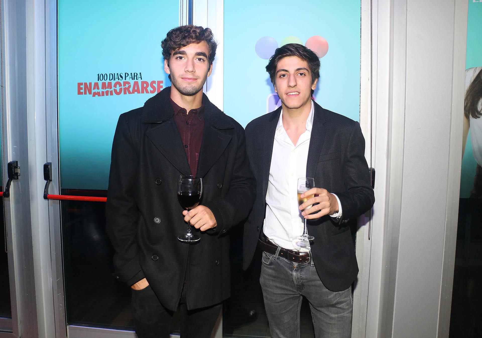 Junior Pisanu, el hijo de Daniela Cardone, y Facundo Calvo