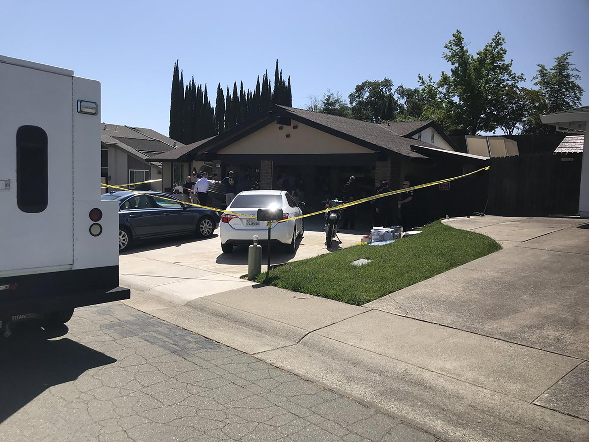 La vivienda de Joseph DeAngelo en Citrus Hights, California, donde el asesino serial más buscado de los últimos 40 años se refugiaba como un vecino más (Fox News)
