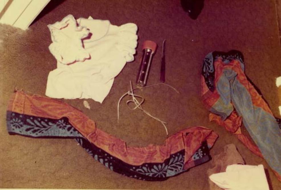 The Golden State Killer dejaba sus rastros en las viviendas que saqueaba luego de violar a sus propietarias (FBI)