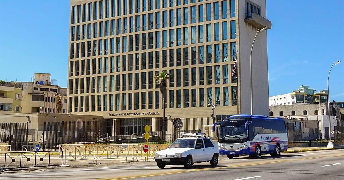 La embajada de Estados Unidos en Cuba (Cortesía: Cibercuba)
