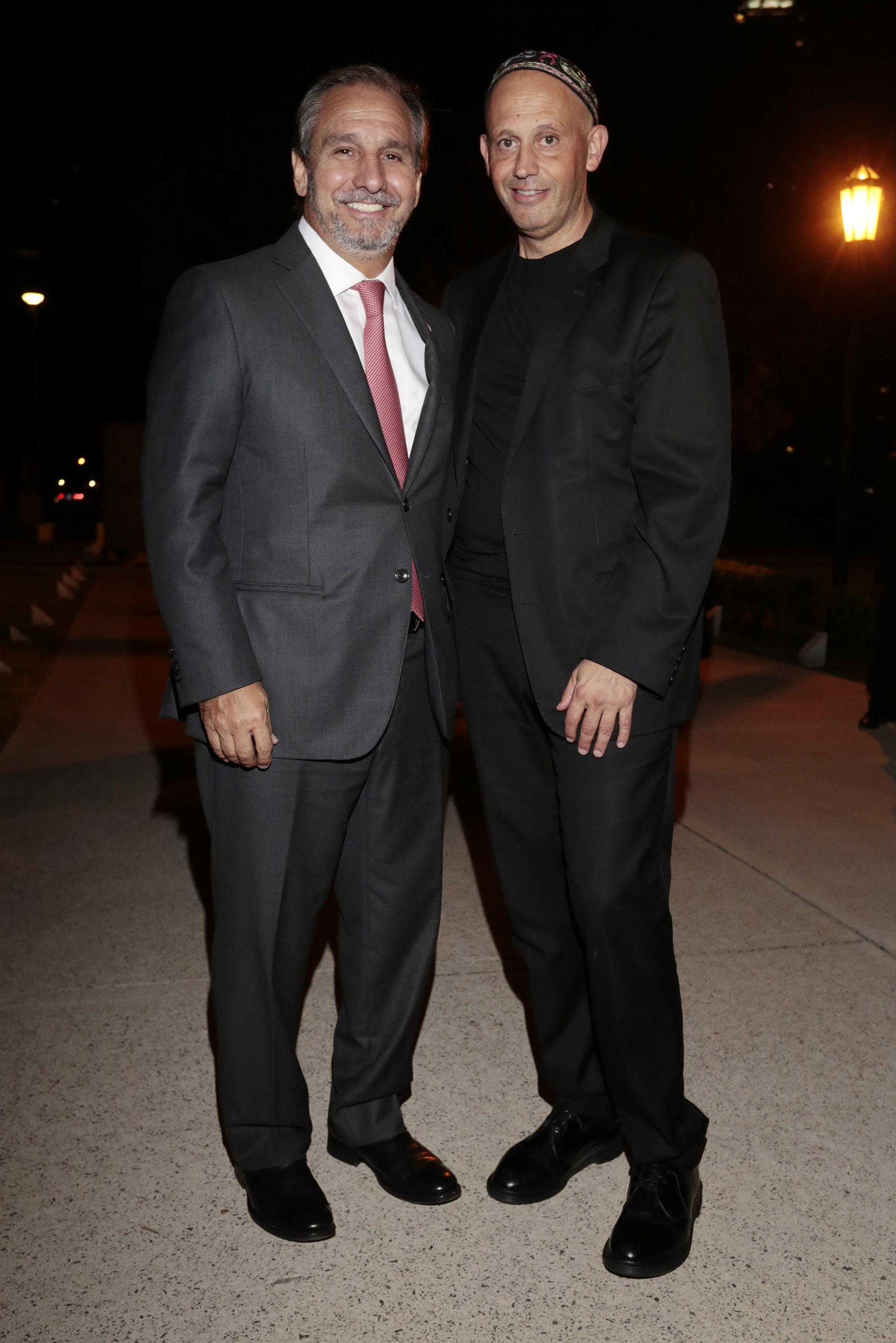 Sergio Bergman y Nicolás Caputo