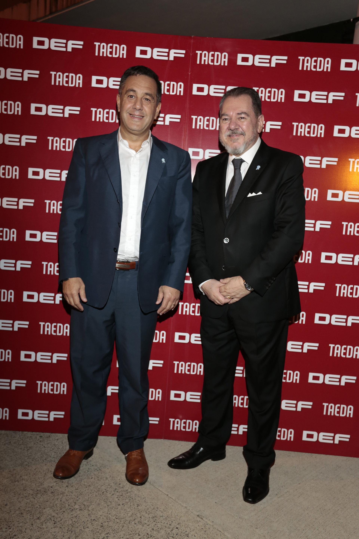 Alejandro Finocchiaro y Mario Montoto