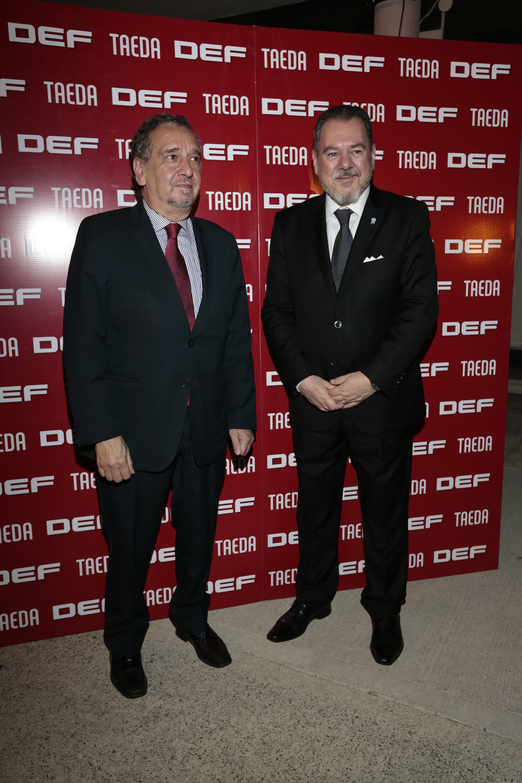 Lino Barañao y Mario Montoto