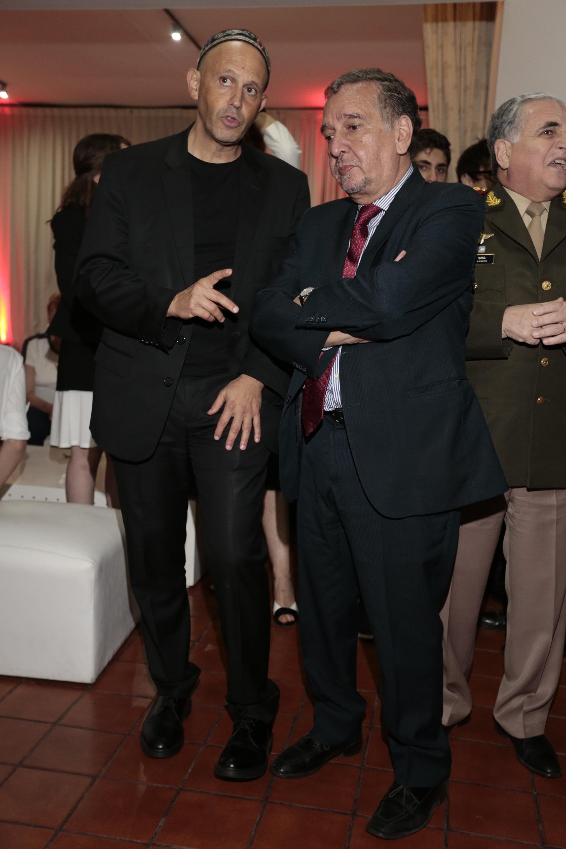 Sergio Bergman y Lino Barañao