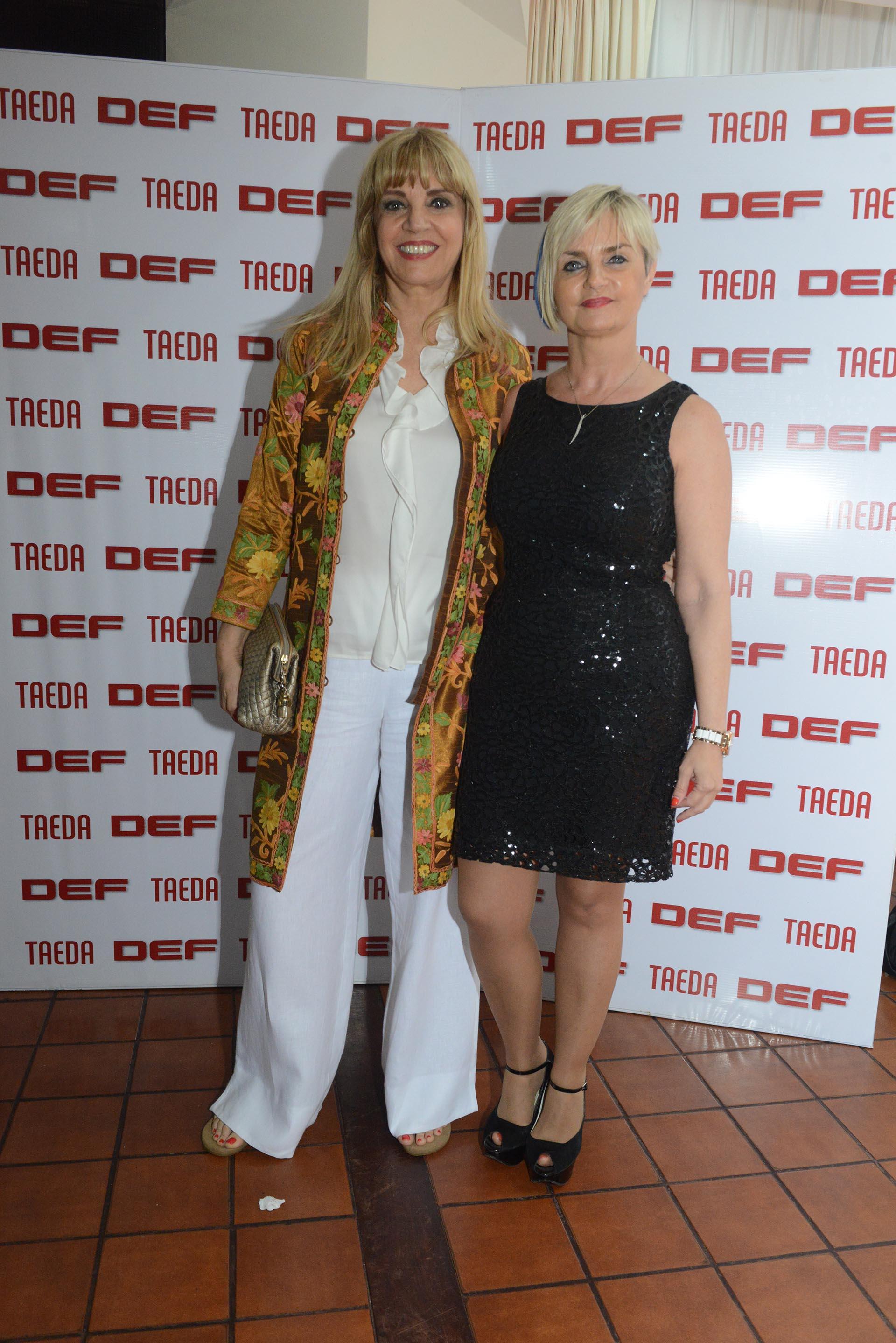 Teté Coustarot y Claudia Perandones, interventora de ANLIS
