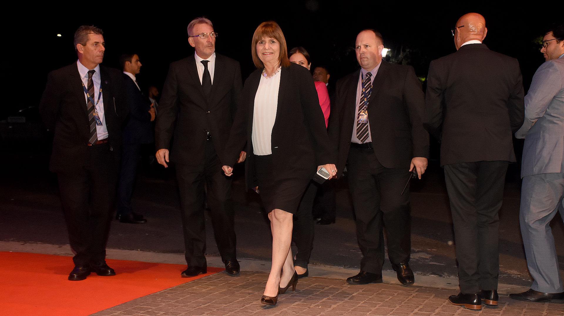 La ministra de Seguridad Patricia Bullrich (Fotos: Nicolás Stulberg)