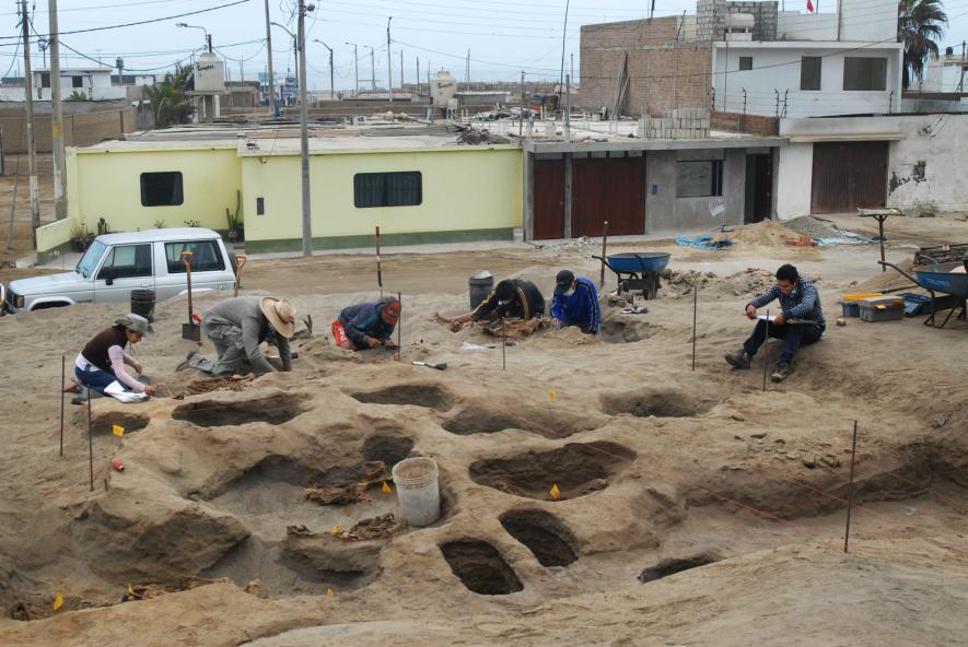 Las excavaciones se realizaron entre 2011 y 2016 y el hallazgo se anunció en 2018