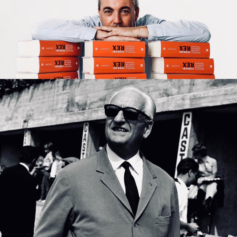 """Originalmente titulado """"Ferrari Rex"""", Dal Monte se encargó personalmente de la traducción y adaptación de su libro para el mercado norteamericano"""