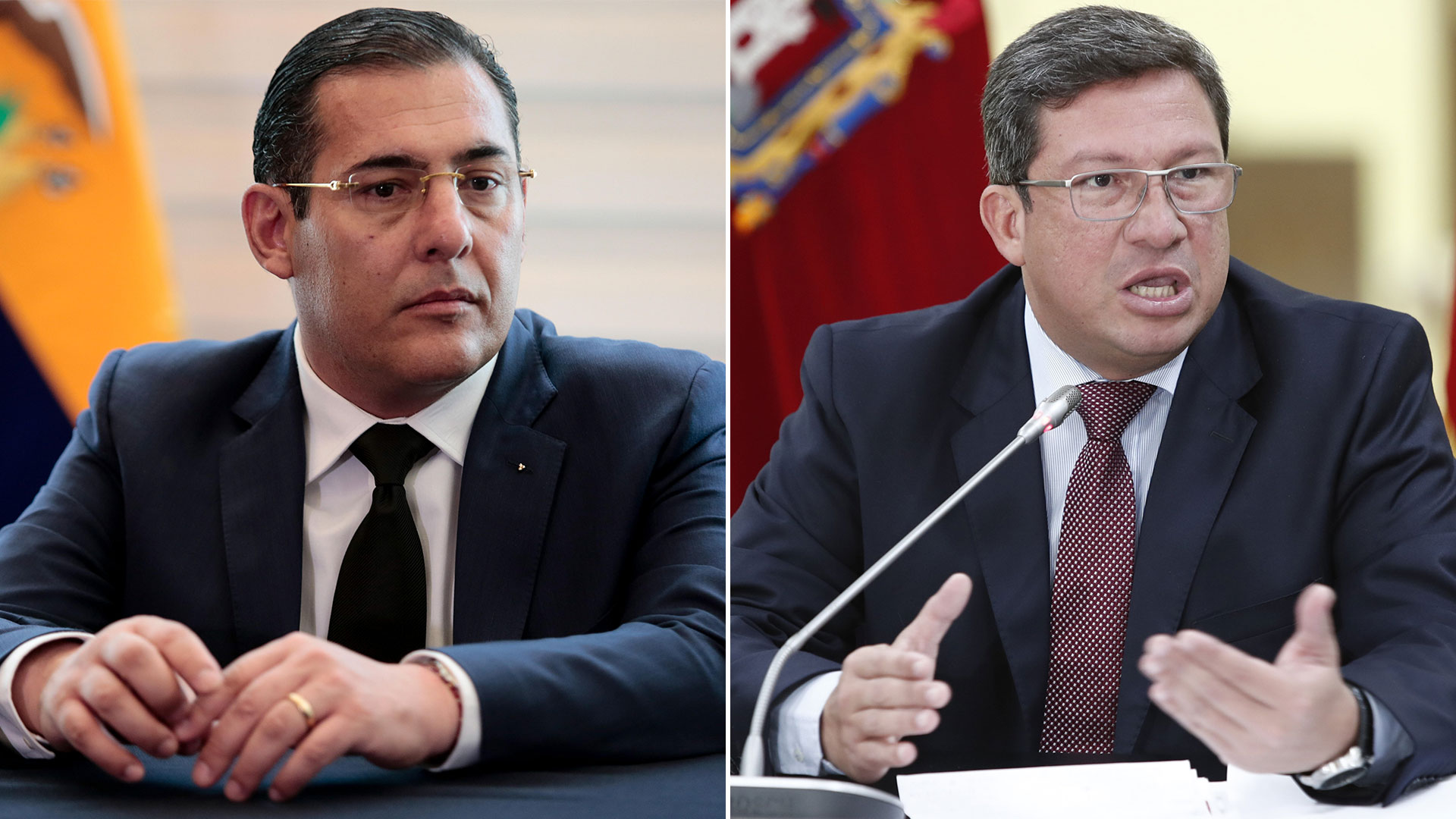 Patricio Zambrano y César Navas (EFE)