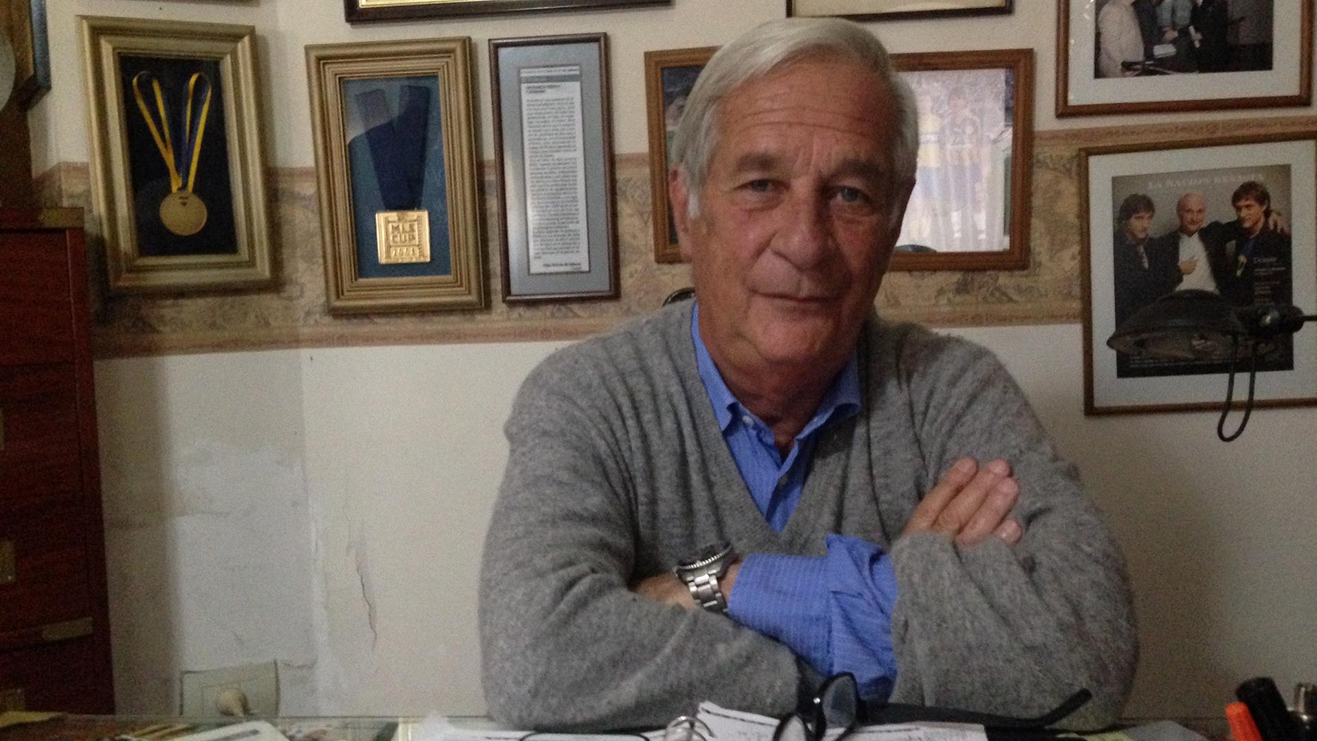 Hugo Barros Schelotto, padre de Guillermo y Gustavo