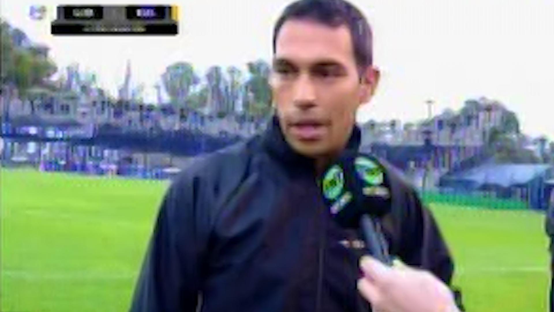 El árbitro Facundo Tello confirmó la suspensión del partido que Gimnasia y Boca debían jugar por la 25° fecha de la Superliga Argentina de Fútbol