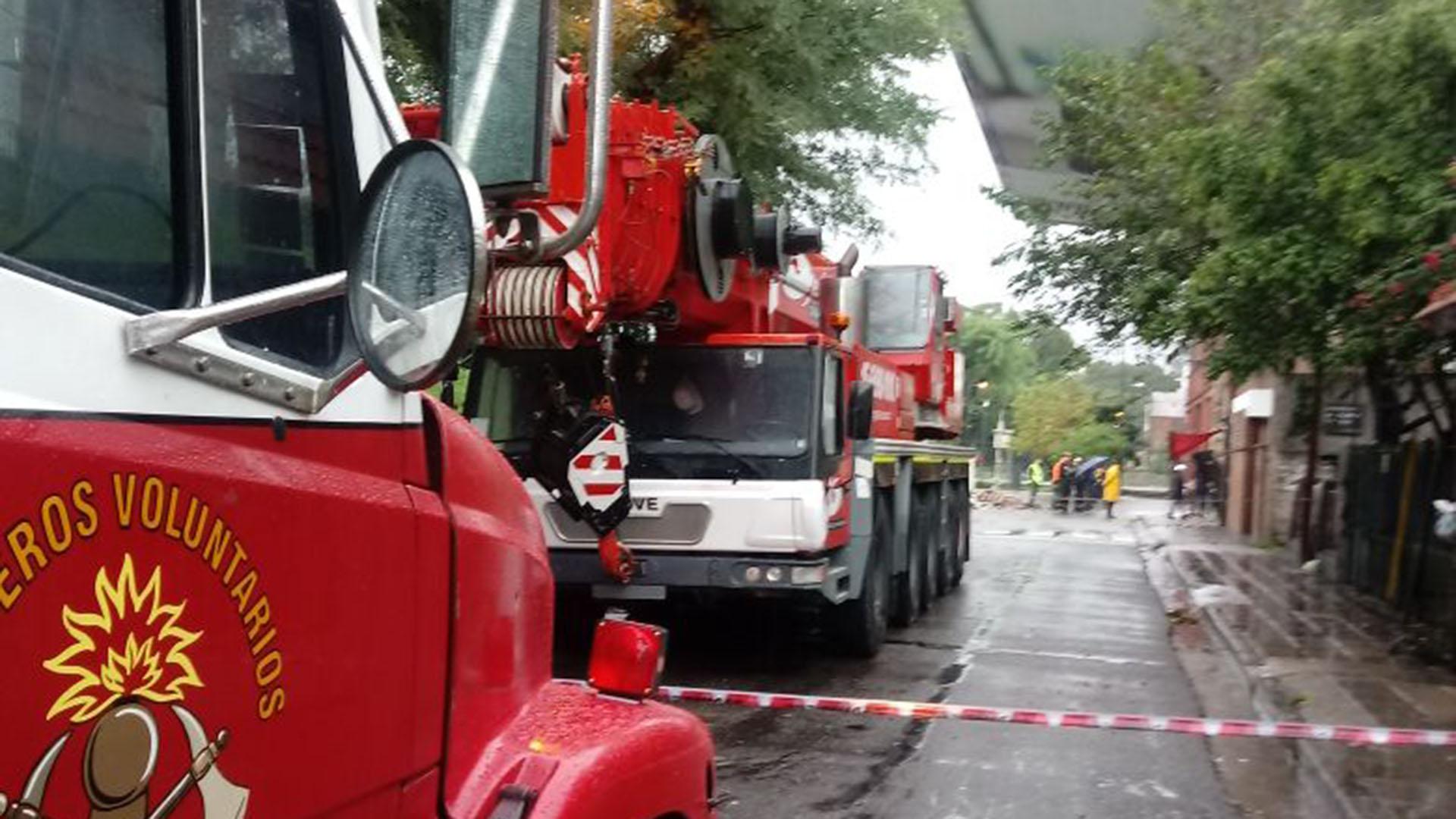 En la Ciudad, el Gobierno porteño desplegó desde la madrugada de ayer un operativo de seguridad