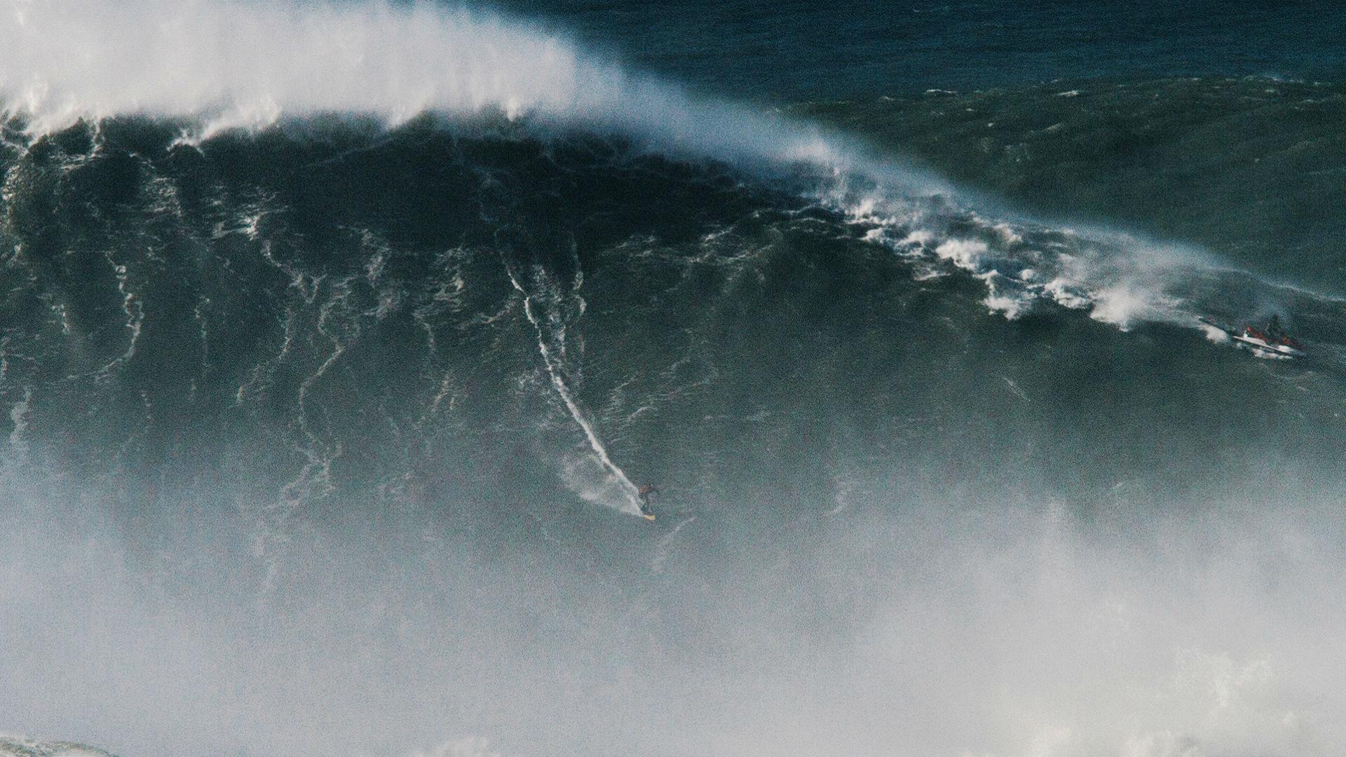 Una ola gigante se registró el pasado martes a 700 kilómetros de Nueva Zelanda (Foto: archivo)