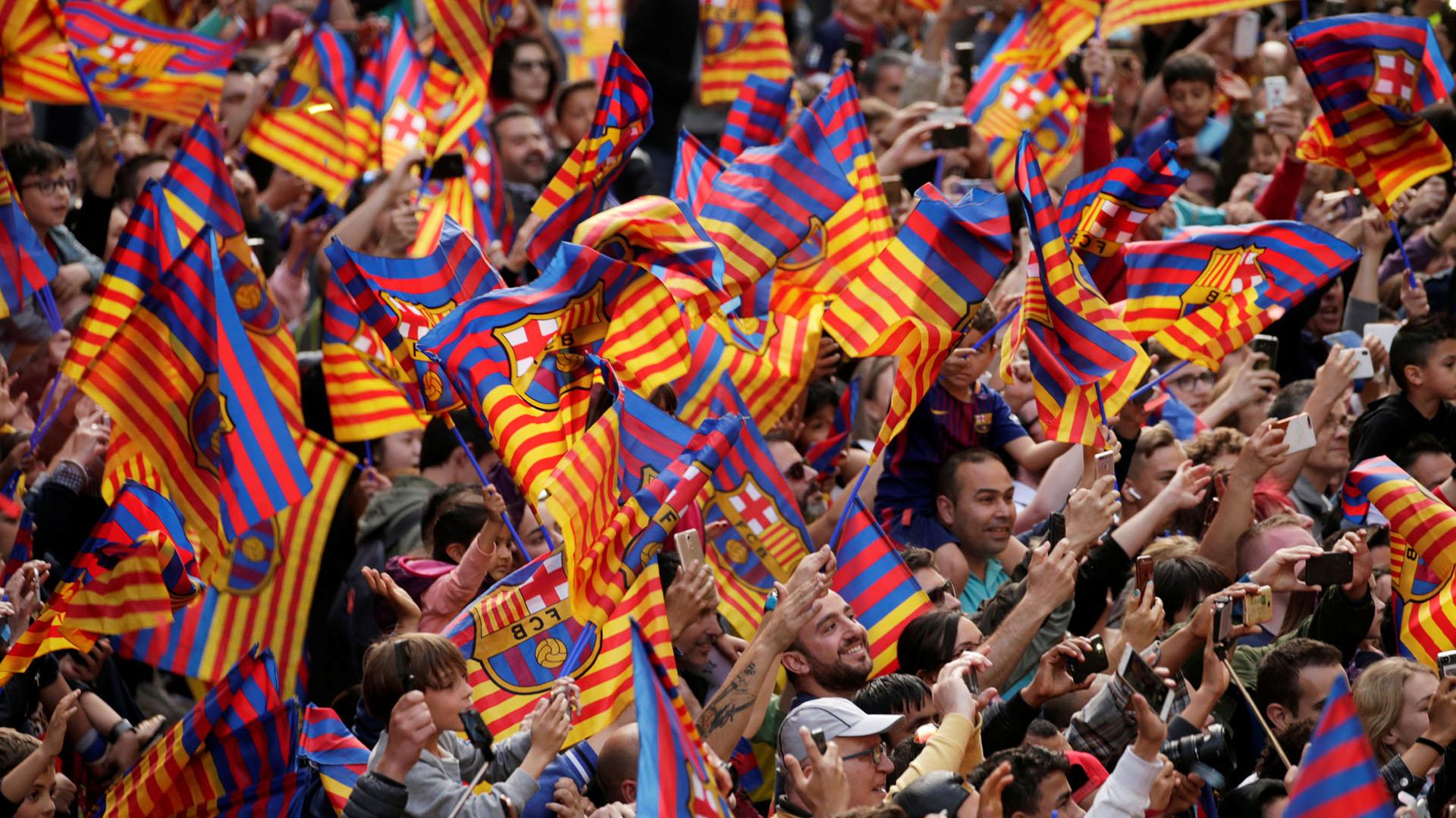 Barcelona suma 94 títulos en su historia, 72 nacionales y 17 internacionales