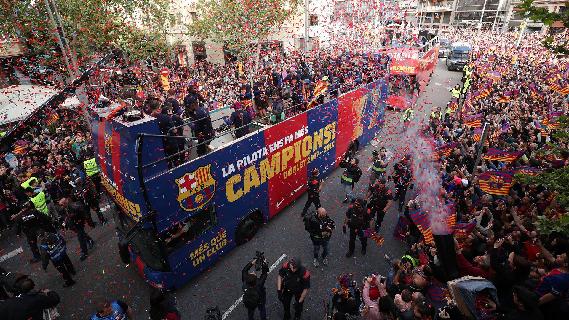Image result for barcelona la liga campeones 2018