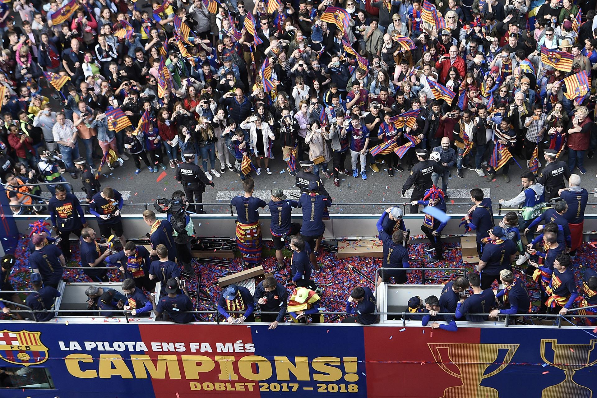 En 34 partidos, el Barcelona sumó 26 victorias y 8 empates