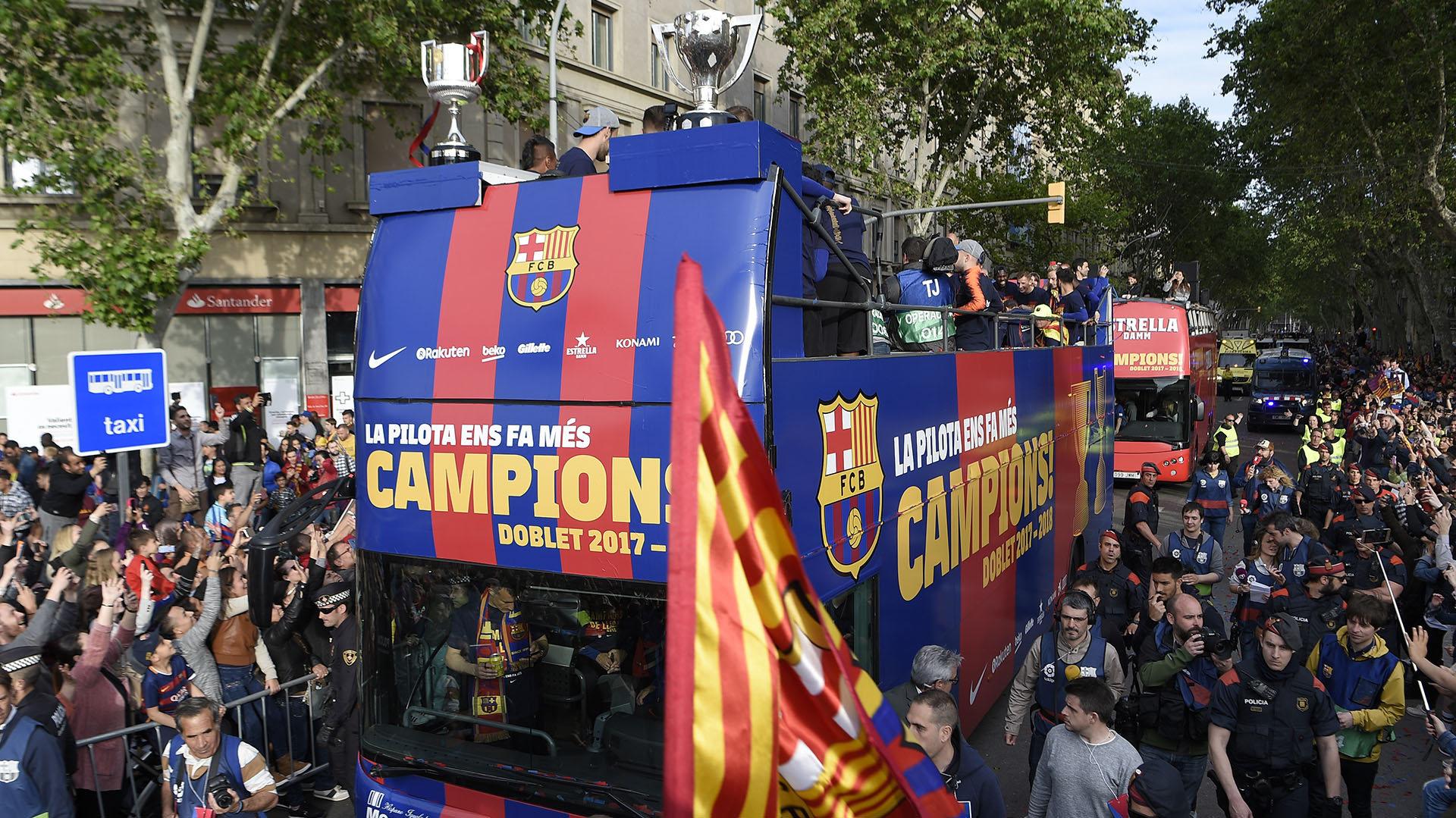 El Barcelona se consagró campeón de La Liga este fin de semana