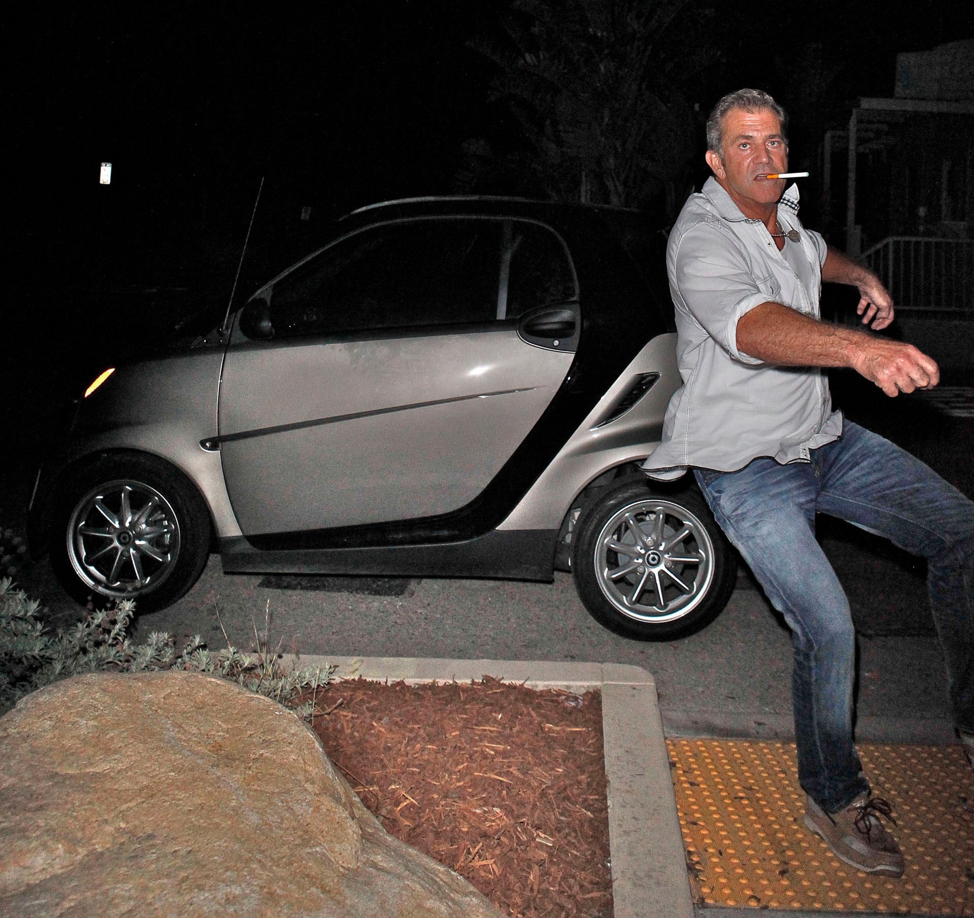 Mel Gibson fue arrestado en más de una oportunidad por conducir ebrio (The Grosby Group)