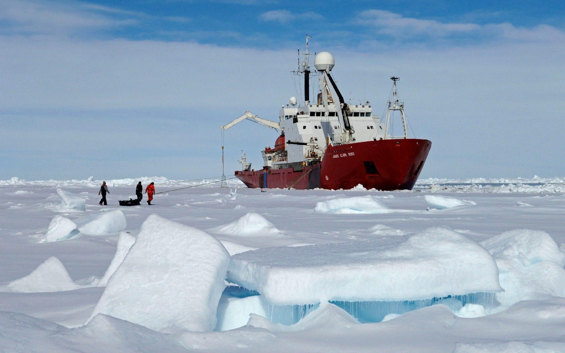 La expedición británico-estadounidense es la más importante en 70 años (British Antarctic Survey)