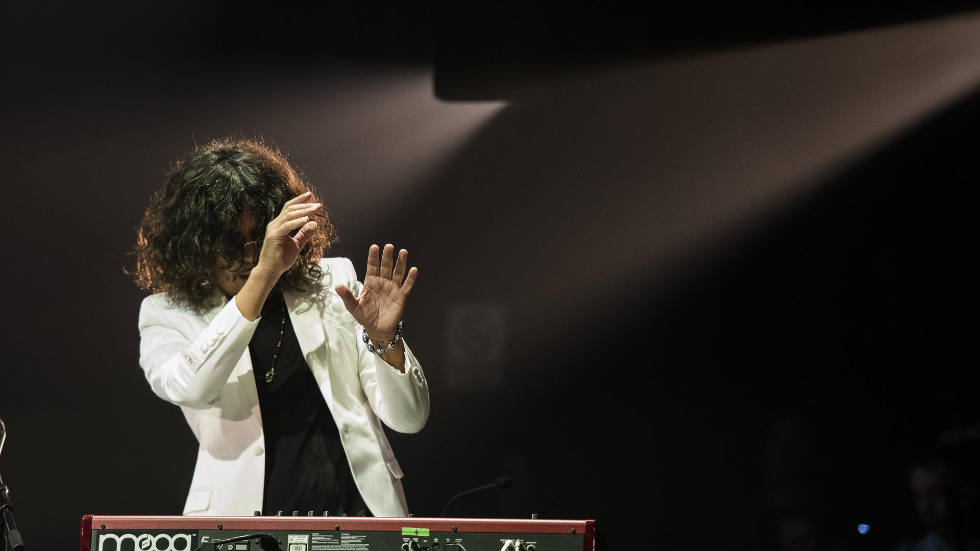 """El """"Zorrito"""" deslumbró con su participación en el recital"""