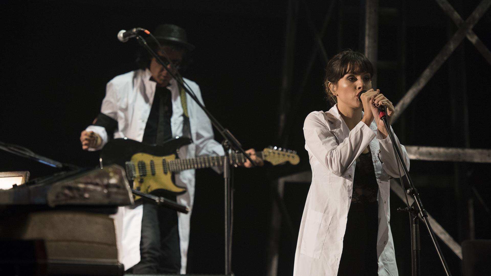 La banda de Charly sonó impecable. (Foto: Adrián Escandar)