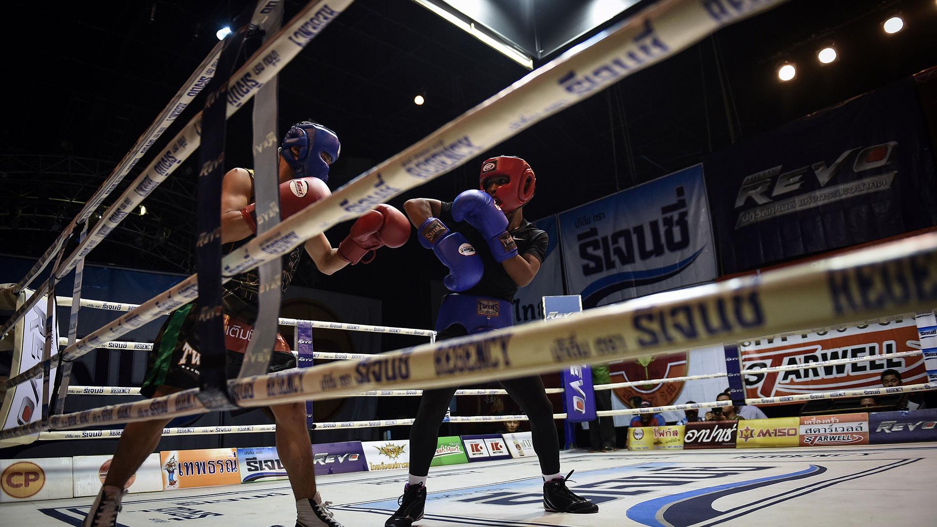 El rival de Wanheng será el panameño Leroy Estrada, un peleador nueve años más joven (AFP)
