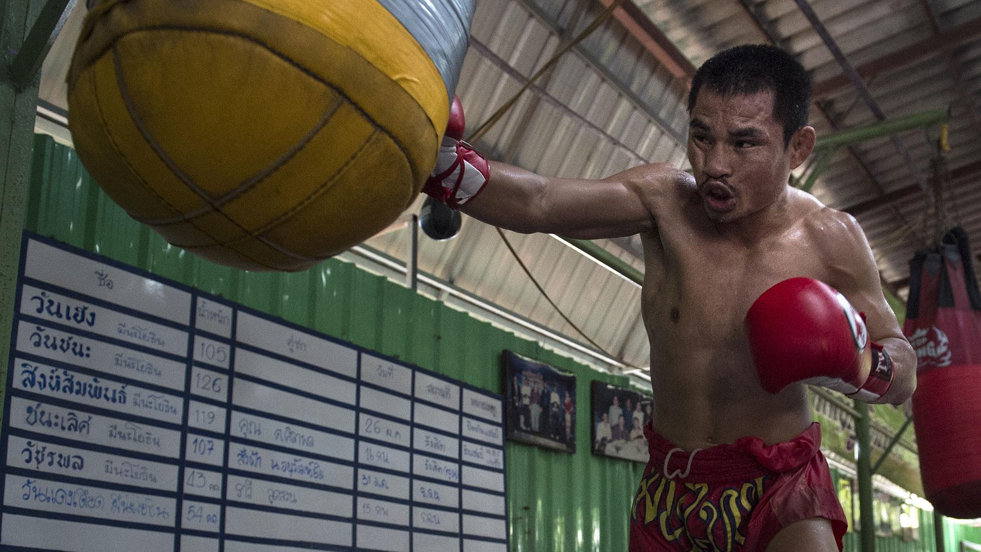 Wanheng Menayothi, boxeador tailandés que sueña con igualar a Mayweather (AFP)