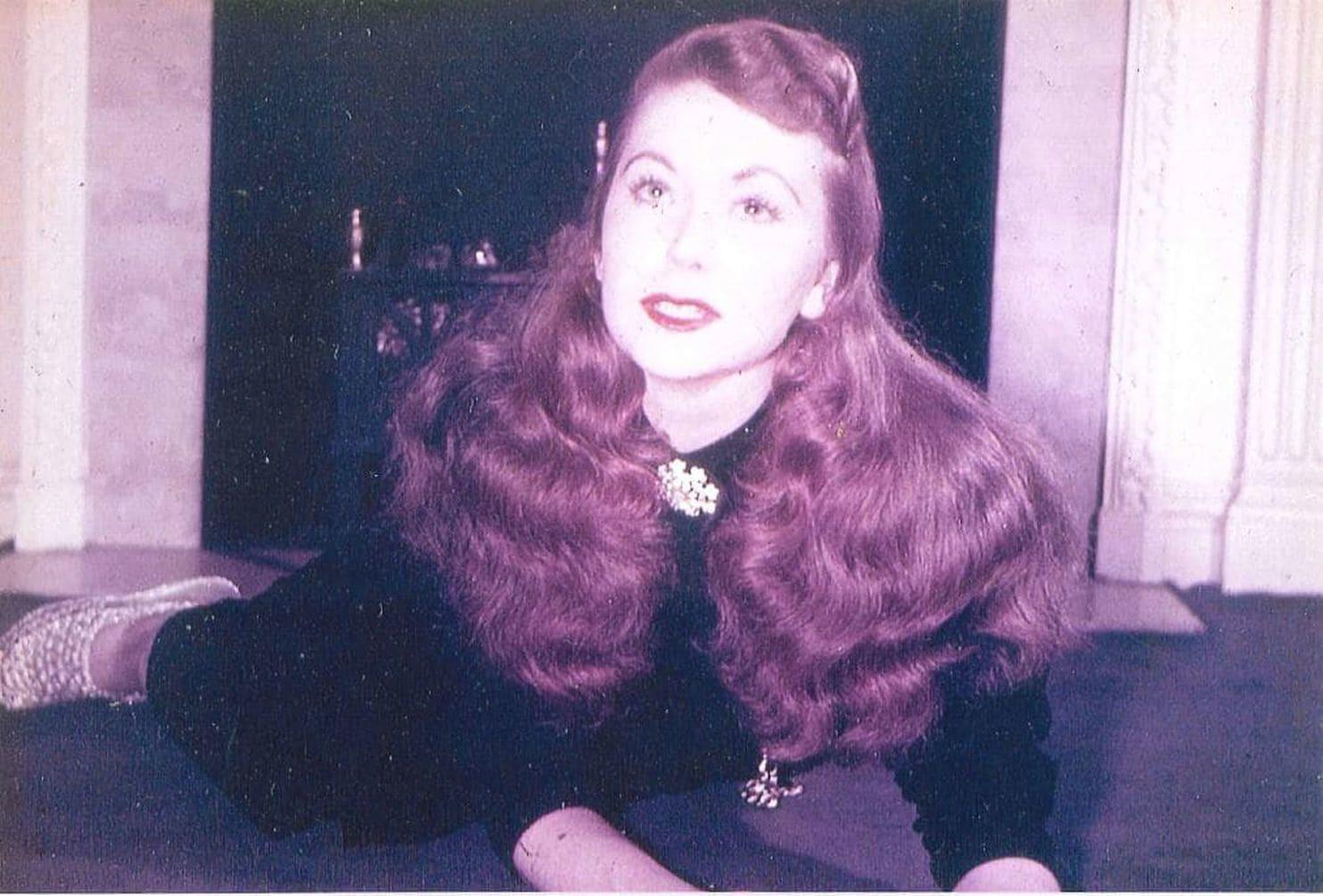 Rebecca Zeni, durante su juventud